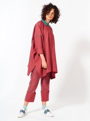 Dusty Rose - Cotton - Tunic