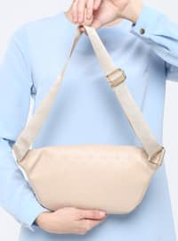 Beige - Bum Bag