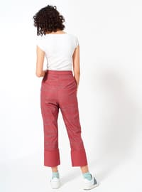 Dusty Rose - Cotton - Pants