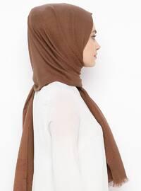 Brown - Plain - Shawl