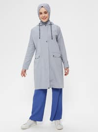 Blue - Unlined - Topcoat
