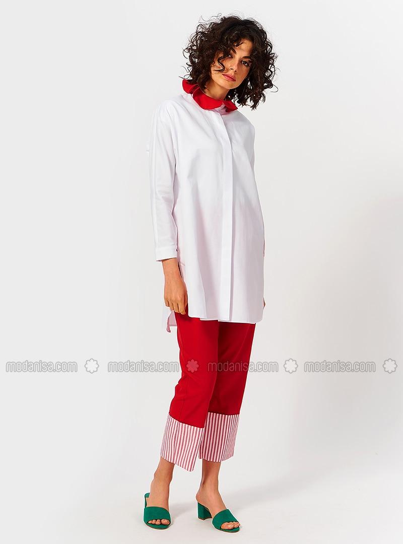 White - Cotton - Tunic