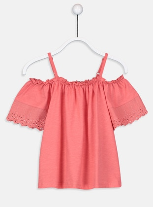 Coral - Girls` T-Shirt