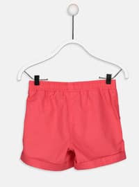 Red - Girls` Shorts