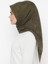 Green Almond - Plain - Scarf