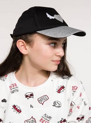 Black - Girls` Hat - DeFacto