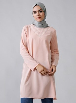 Powder - V neck Collar - Tunic