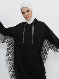 Black - Cotton - Tunic