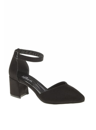Black - High Heel - Sandal