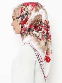 Fuchsia - Printed - Scarf