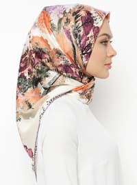 Lilac - Printed - Scarf