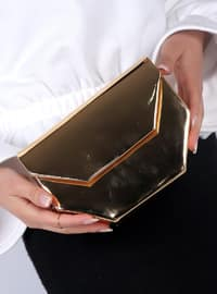 Gold - Clutch Bags / Handbags