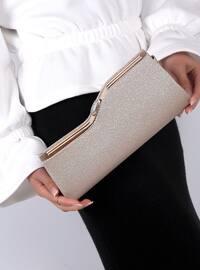 Beige - Clutch Bags / Handbags