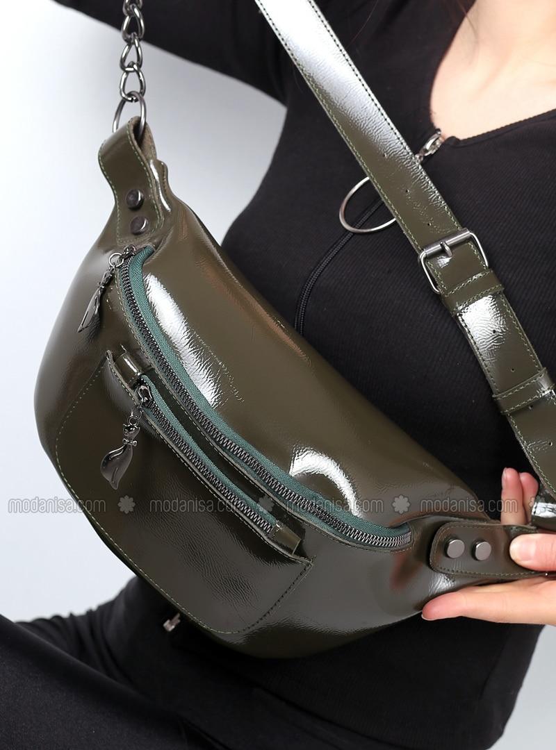 Green - Clutch - Bum Bag