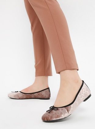 Salmon - Flat - Flat Shoes