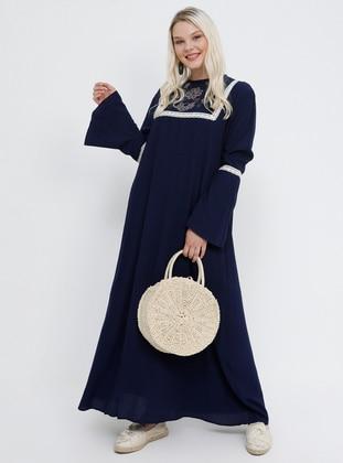 db0f1e613c5c8 İndigo Tesettür Elbise Modelleri ve Fiyatları - Modanisa.com