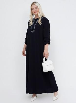 f8de6c78a0c2a Tesettür Büyük Beden Elbise Modelleri - Modanisa.com
