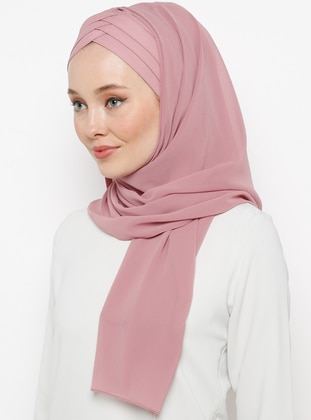 Dusty Rose - Plain - Instant Scarf