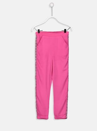 Fuchsia - Girls` Pants