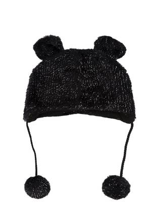 Black - Girls` Beanie