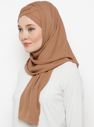 - Plain - Pinless - Instant Scarf