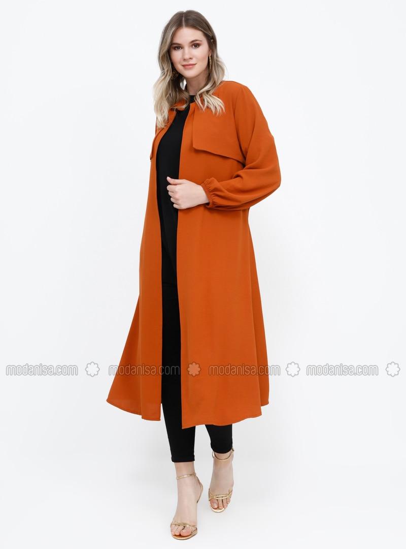 - Unlined - Plus Size Coat