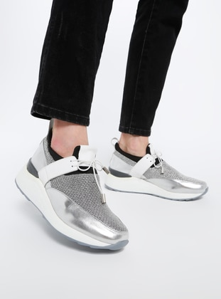 Silver tone - Sport - Casual - Shoes