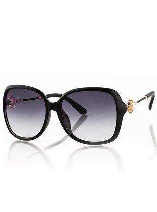 Black - Sunglasses - SİLVİO MONETTİ