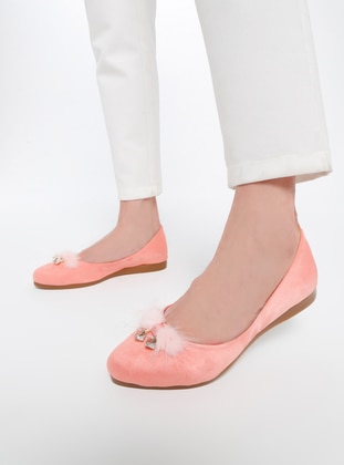 Pink - Flat - Casual - Shoes