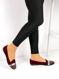 Maroon - Casual - Shoes