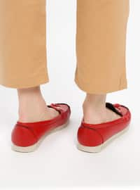 Red - Casual - Shoes