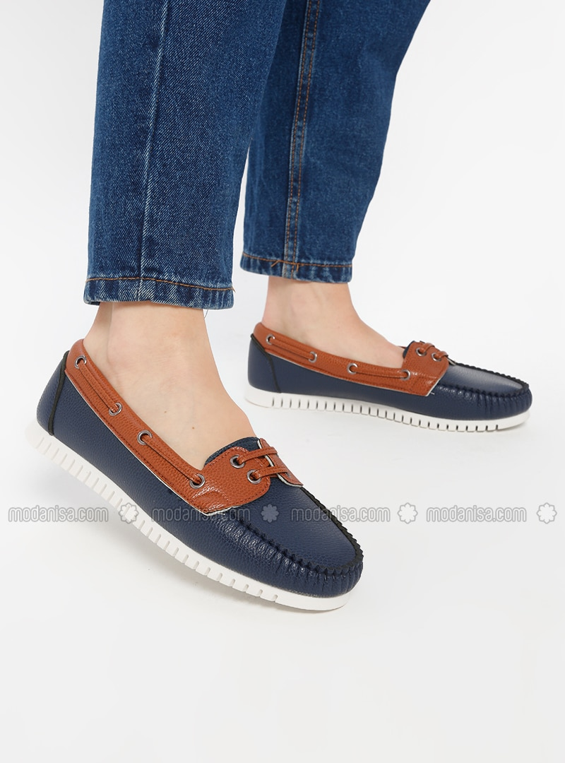 Navy Blue - Casual - Shoes