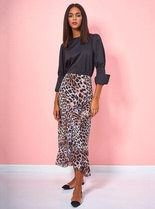Leopard - Leopard - Unlined - Skirt
