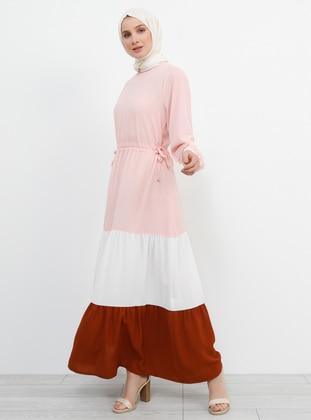 Powder - Crew neck - Unlined - Dress