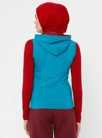 Blue - Unlined - Vest