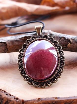 Maroon - Necklace