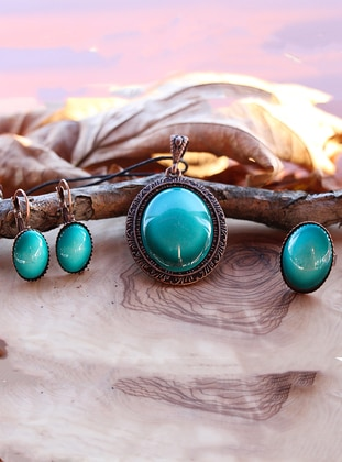 Turquoise - Accessories Set