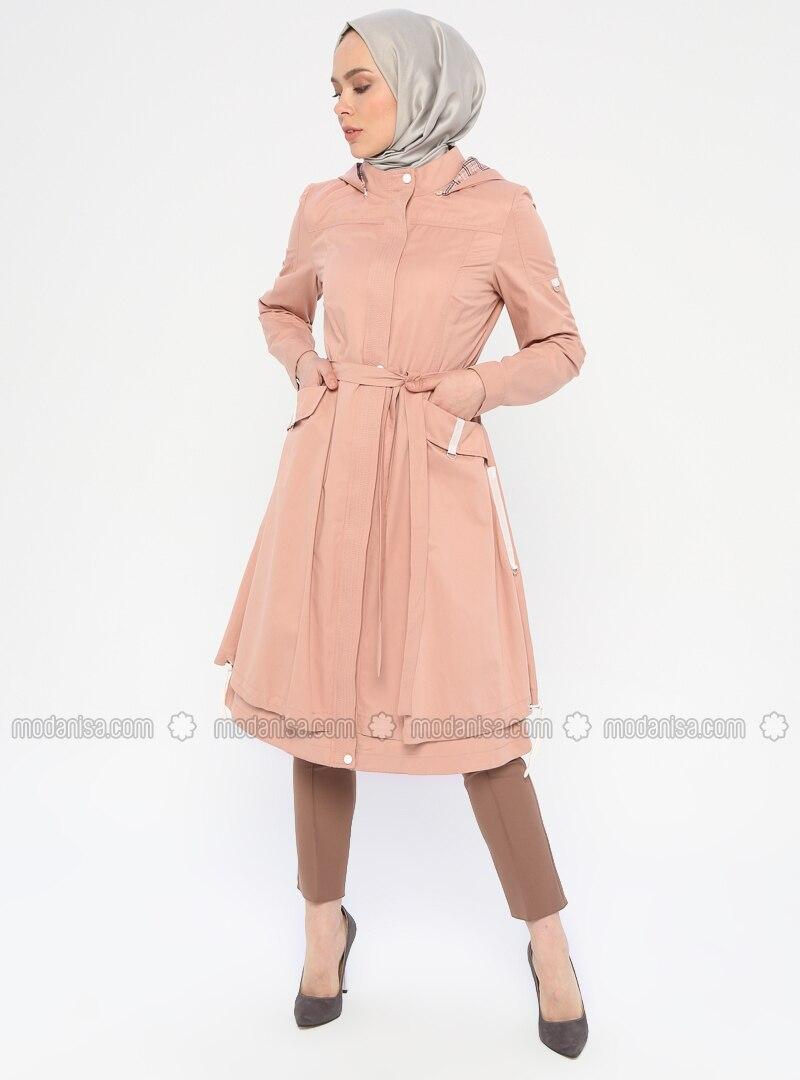 - Fully Lined - Polo neck - Topcoat