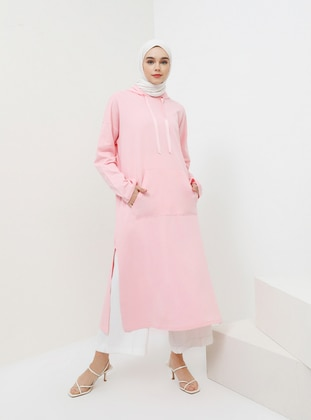 Pink - Cotton - Tunic