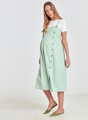 Green - Maternity Dress - LC WAIKIKI