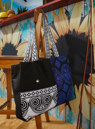 Black - Beach Bags