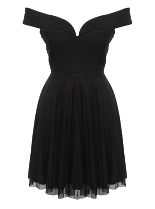 Black - Fully Lined - Dress