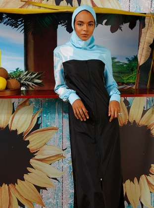 4a4124905177 Burkini & Islamic Covered Swimsuit Models - Modanisa.com