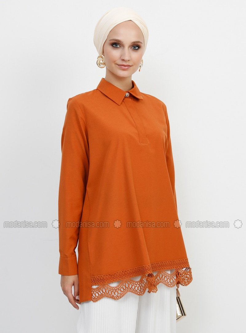 Cinnamon - Point Collar -  - Tunic
