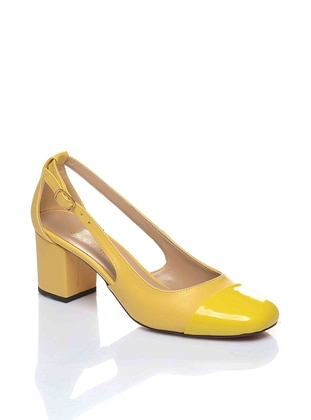Yellow - High Heel - Shoes