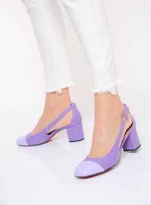 Purple - High Heel - Shoes