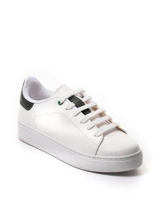 Green - White - Khaki - Sport - Sports Shoes