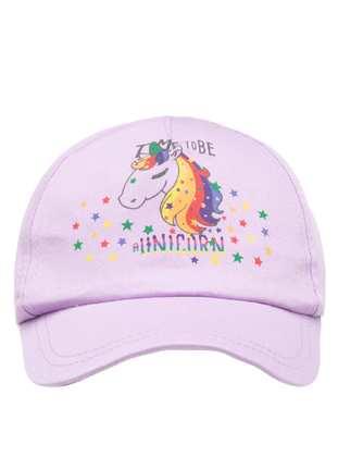 Purple - Girls` Hat