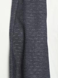 1e8f1fdd8d9b Navy Blue - Printed - Plain - Viscose - Shawl