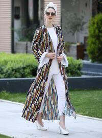 Multi - Stripe - Unlined - Jacket